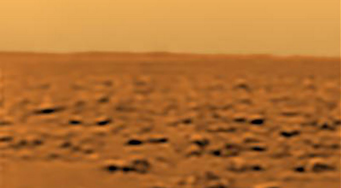 the-surface-of-saturns-moon-titan-as-photographed-by-nasas-huygens-lander-in-2005